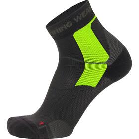 GORE RUNNING WEAR Essential Tech Löparstrumpor grön/svart